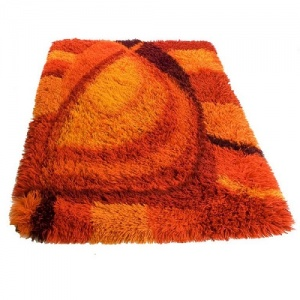 rust rug
