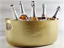 gold wine bucket