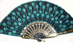 peacock wall fan