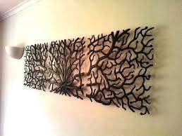 t4rattan twigs wall art