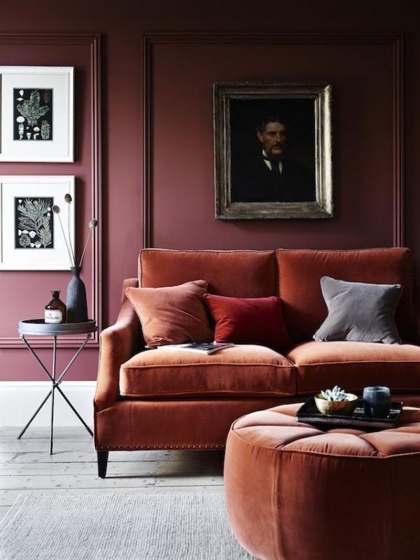 terracotta living space